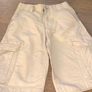 Boys khaki Urban Pipeline shorts size 10!